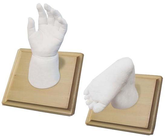 Kidzzcast gipsafdruk handje of voetje My First 3D