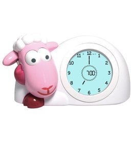 Zazu pink sheep sleeping coach Sam