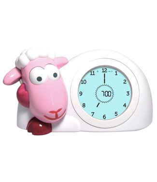 Zazu pink sleeping trainer sheep Sam