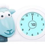 Zazu Sleeping coach Sam blue sheep