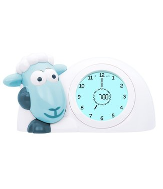 Zazu sleeping trainer blue sheep Sam