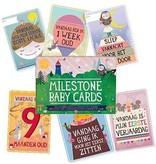 Milestone Nederlandse Milestone Baby Cards fotokaarten