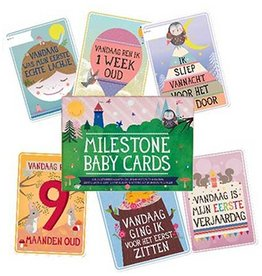 Milestone Baby Cards Dutch Milestone Baby Cards cards