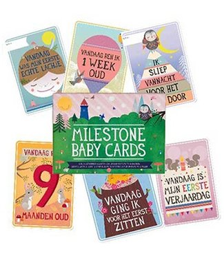Milestone™ Baby Cards Dutch Milestone Baby Cards cards