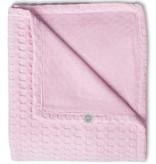 Jollein crib blanket 75x100cm Waffle pink light pink TOG 1.1