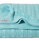 Jollein bed blanket 100x150cm Cable Jade TOG 0.6