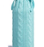 Jollein hot water bottle cover Cable jade green