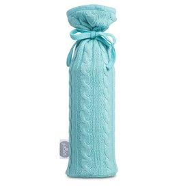Jollein hot water bottle cover Cable jade