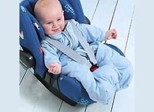 Sleeping bag car seat