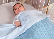 Bed sheets baby crib