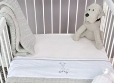 Fitted sheet bedstead