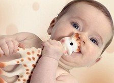 Teething rings and teething toys for babies