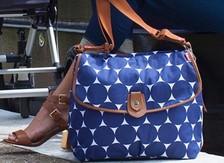 Blue nursery bags