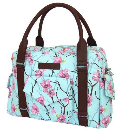Elodie Details diaper bag Apple of my eye with blossom print (free shipping)