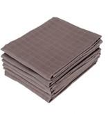 Jollein hydrofielluiers antraciet grijs 6-pack