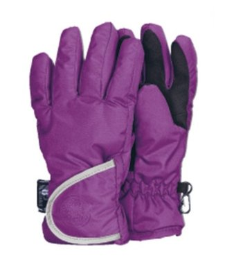 Waterproof gloves children purple