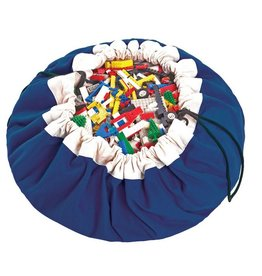 Play & Go playmat storage bag in cobalt blue