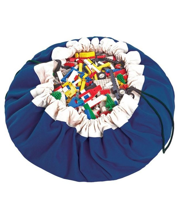 Play & Go storage bag play mat in cobalt blue