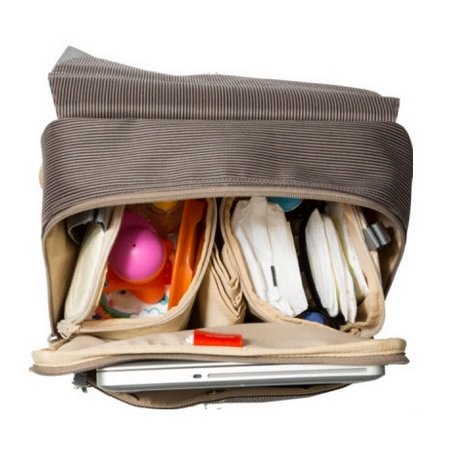 PacaPod Hastings Mocha diaper bag (free shipping)