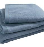 Jollein crib blanket 75 x 100 cm faded blue