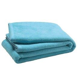 Jollein crib blanket 75 x 100 cm turquoise blue