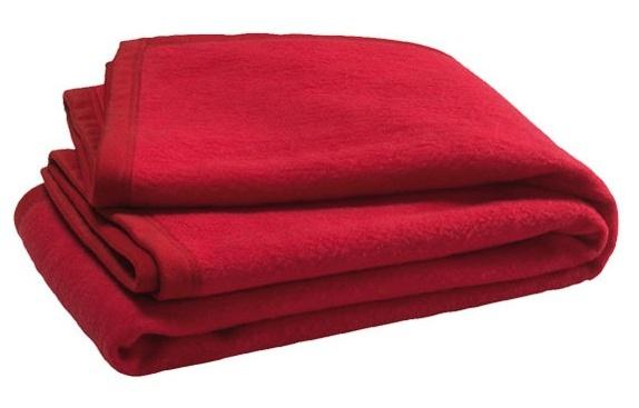 Jollein crib blanket 75 x 100 cm red