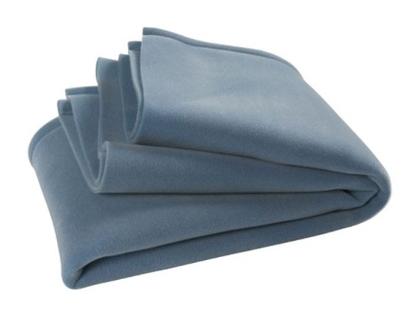 Jollein crib blanket anti-allergy Deluxe 75 x 100 cm light