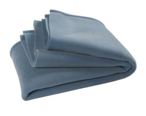 Jollein wiegdeken anti-allergie Deluxe 75 x 100 cm lichtblauw