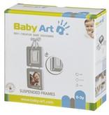 Baby Art hangende fotolijstjes met hand/voetafdruk
