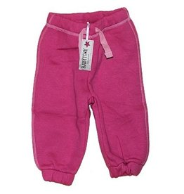 Baby Town jogging pants fuchsia pink with string