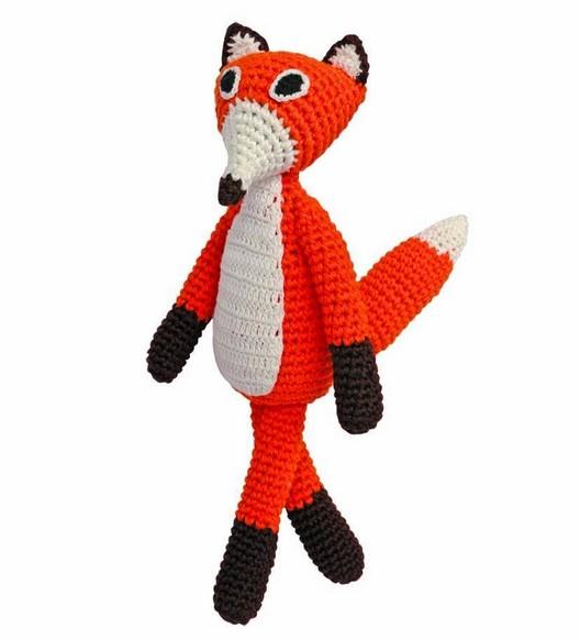 Sindibaba Hug orange fox 30cm