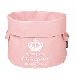 Elodie Details storage basket StoreMyStuff Petit Royal Pink