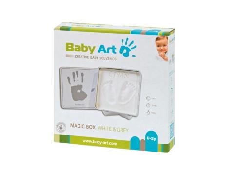 Baby Art magic box Ocean can with handprint or footprint