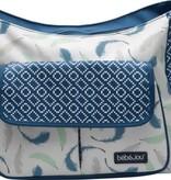 Bébé-Jou Little Dreamer diaper bag with feathers print