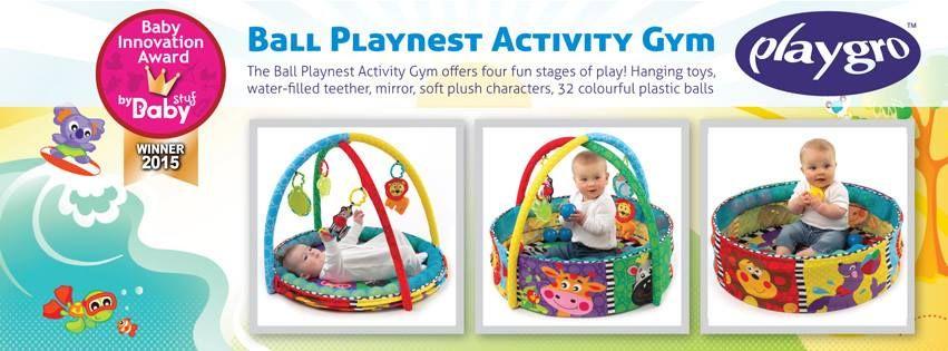 Playgro speelkleed winnaar Baby Innovation Award 2015