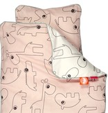 Done by Deer Contour Powder pink bed duvet 100 x 140 cm