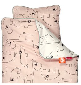 Done by Deer bed duvet Contour Powder pink
