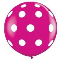 A Little Lovely Company XXL Polka Dot Balloon 80cm - Free Shipping