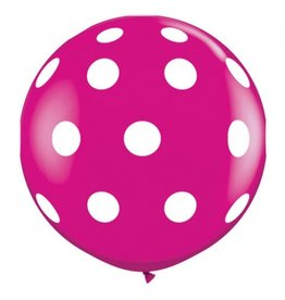 A Little Lovely Company XXL Polka Dot Balloon 80cm
