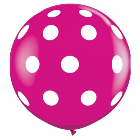 A Little Lovely Company XXL Polka Dot Balloon 80cm - Free Shipping