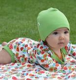 beanie baby mutsje limegroen