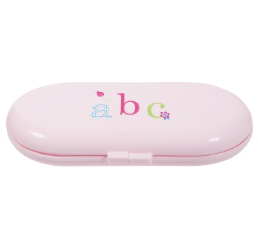 Bébé-Jou roze manicureset ABC - gratis verzending