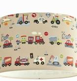 Designed 4 Kids lampenkap voertuigen (gratis verzending)