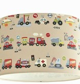 Designed 4 Kids lampshade vehicles (free shipping)