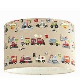 Designed 4 Kids lampshade vehicles