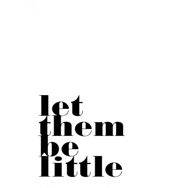 Poppyphoto postkaart Let them be little (gratis verzending)