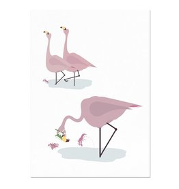 norsuStories Flamingo poster 50 x 70 cm