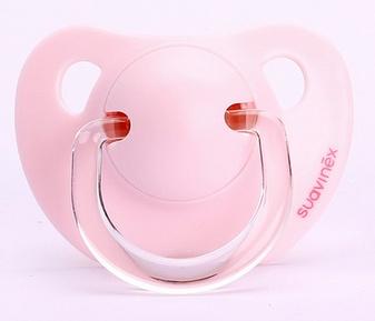 Suavinex pacifier Scottish Rose soft pink