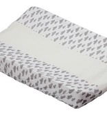 Lodger changing pad Grey Clouds
