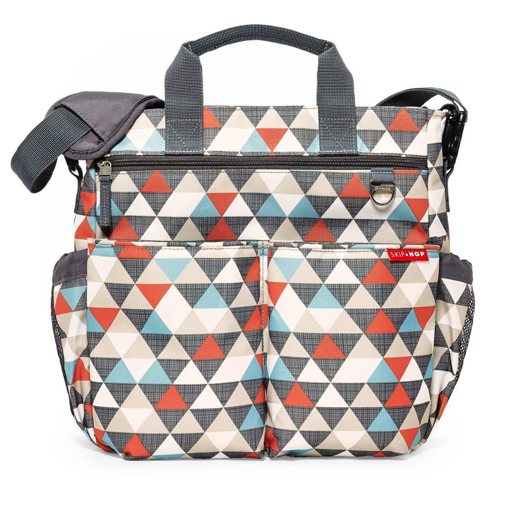 Skip Hop diaper bag Duo 3.0 Signature Triangles (free shipping)